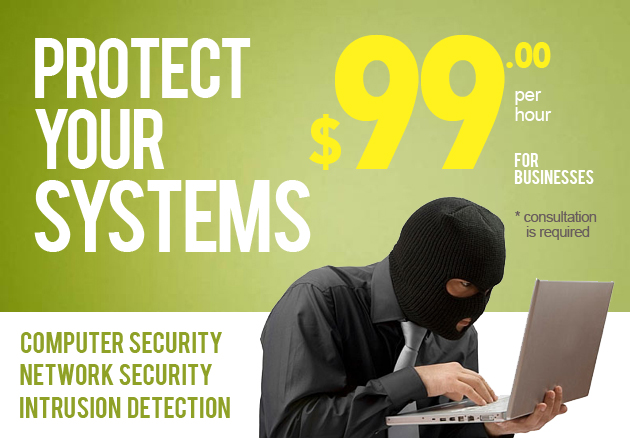 Protect your data with this business systems security package.