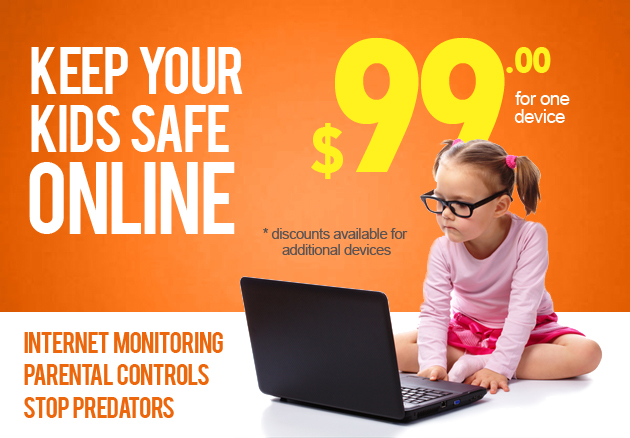 Keep your kids safe from cyber-bullies, online predators and pornography.